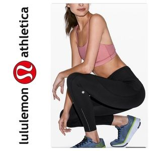 New Lululemon Fast and Free HR 7/8 Tight black 8